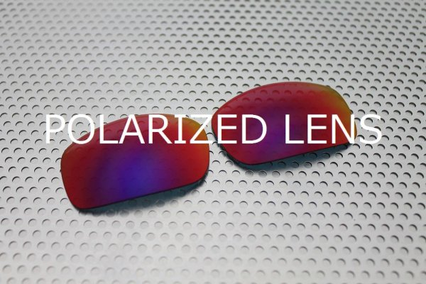画像1: X-SQUARED プレミアムレッド 偏光レンズ