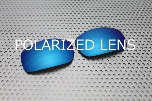 画像1: X-SQUARED サックスブルー 偏光レンズ