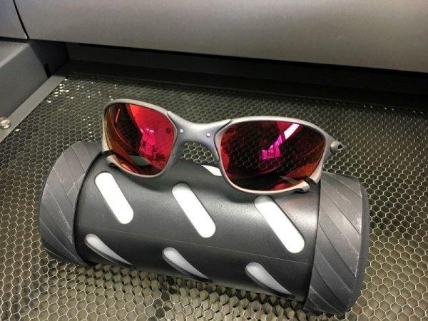 画像2: X-METAL XX レッドミラー偏光レンズ