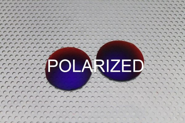 画像1: MADMAN タンザナイト - UV420 偏光レンズ