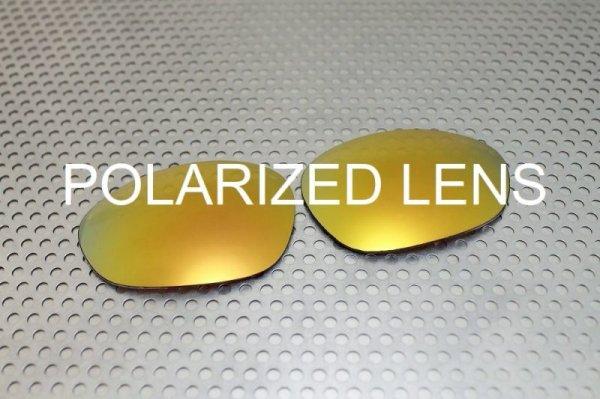 画像1: X-METAL XX 24K ゴールド - UV420 偏光レンズ