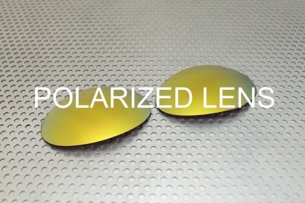 画像1: ロメオ1  24K ゴールド - UV420 偏光レンズ