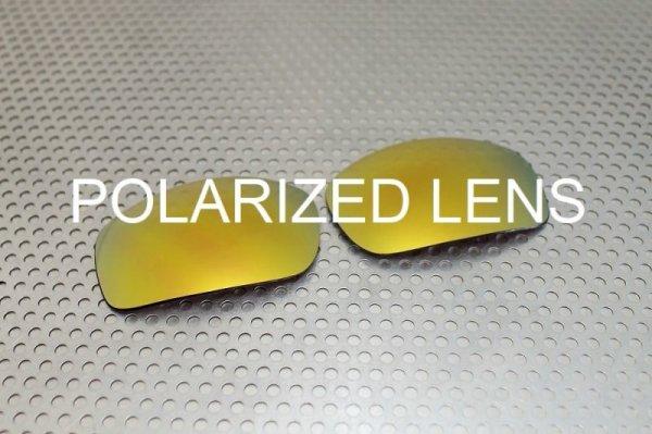 画像1: X-SQUARED 24K ゴールド - UV420 偏光レンズ