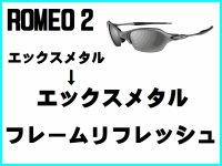 ロメオ2 ノーズブリッジチューニング&X-METALフレーム リフレッシュ