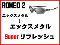 ロメオ2 ノーズブリッジチューニング&X-METALフレーム スーパーリフレッシュ