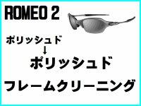ロメオ2 ノーズブリッジチューニング&ポリッシュドフレームクリーニング