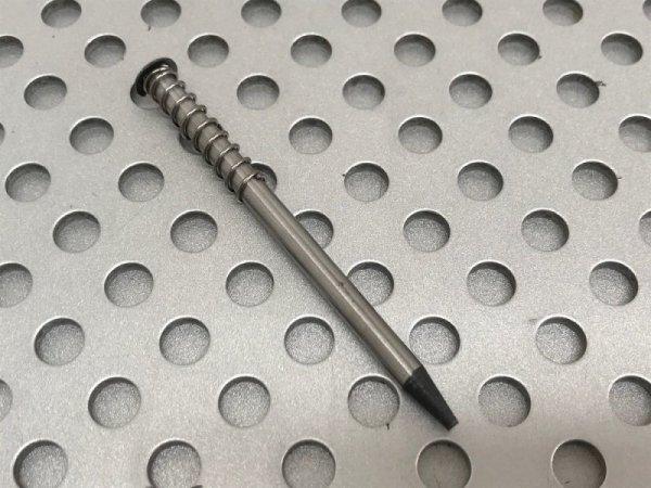 画像1: ピン抜き機用 ノーズピン差し棒 スプリング付き 替え(1本)