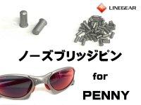 ペニー ノーズブリッジ用ピン マットシルバー 5.25mm