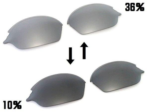 画像2: ロメオ2 NXT® 偏光調光レンズ フラッシュブラック